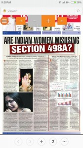Are Indian women misusing section 498-A